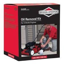 Oil Removal Kit