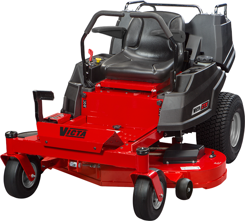 VICTA ZXT 23hp 48andquot Fabricated Deck with Carryall