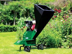 Deutscher 7500 Chipper 6hp Briggs + Stratton