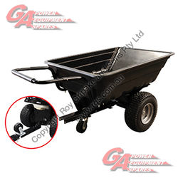 Garden Cart - Tipping Trailer - Assembled