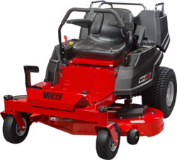 """VICTA ZTX 23hp 48"""" Fabricated Deck with Carryall"""