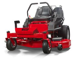 "Victa ZTX 23hp 42"" Cut with Carrycart"